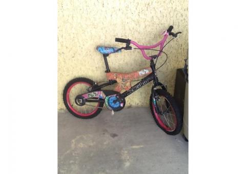 Bicicleta Mercurio rodada 16 x 1.75 niña