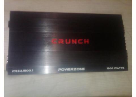 amplificador crunch 1500.1