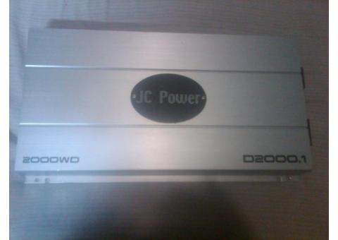 amplificador jc power 2000.1