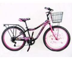 Bicicleta mercurio niña R24 capressi retro