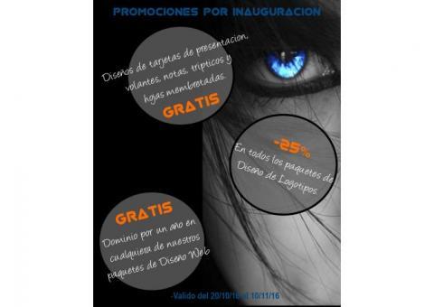 TARJETAS DE PRESENTACIÓN Y DISEÑO WEB