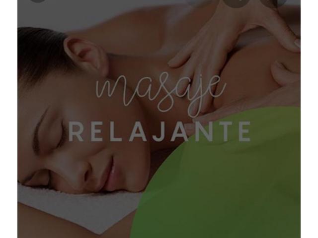 Masajes antiestrés profesional relajante