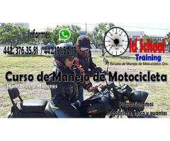 CURSO DE MANEJO DE MOTOCICLETAS