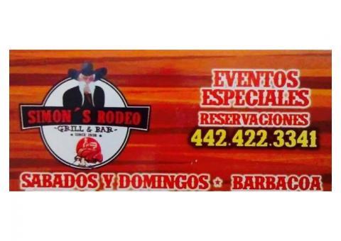 Restaurante de barbacoa Simon's Rodeo