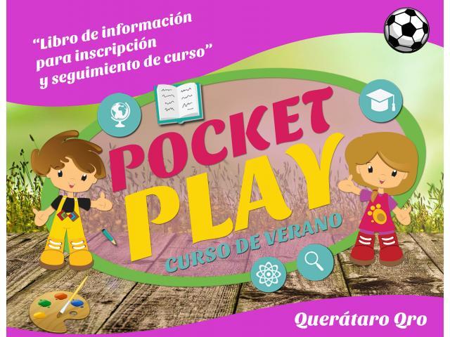 POCKET PLAY CURSO DE VERANO ¡INSCRIBE A TUS PEQUES!